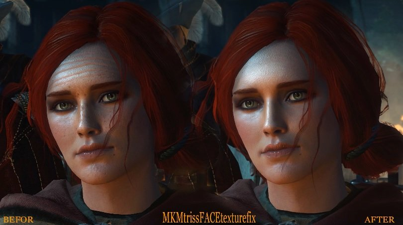 Mkm yennefer beauty face and big breast and ass