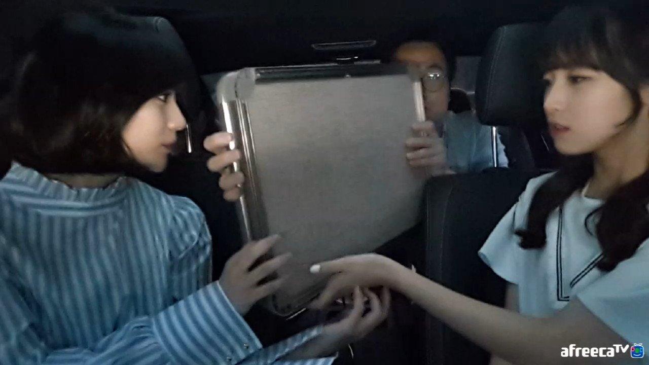 오마이걸 아린이 아프리카 방송하노.jpg