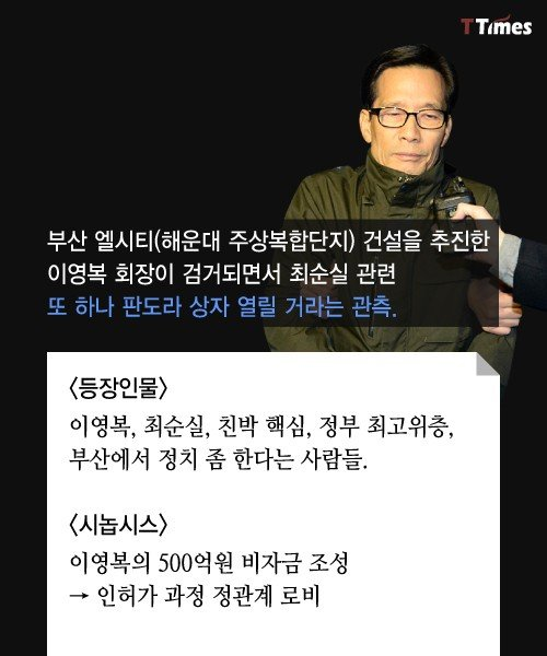 1.jpg 최순실 시즌2) 해운대 게이트 총정리