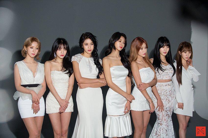 [스타캐스트] '컨셉종합선물세트' AOA 첫 단콘 포스터 촬영 현장
