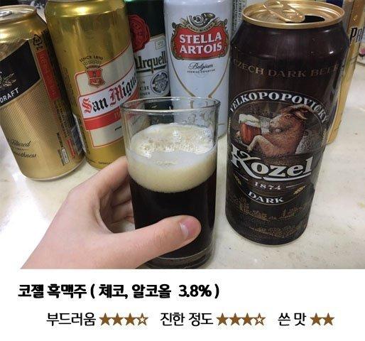 4.jpg 편의점 수입 맥주 8종 맛 비교
