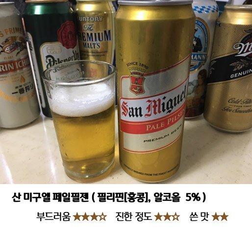 8.jpg 편의점 수입 맥주 8종 맛 비교