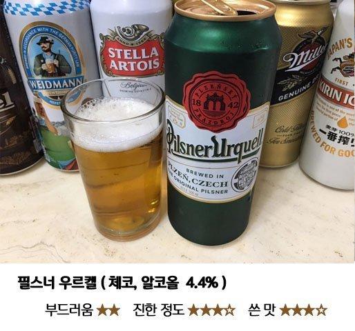 5.jpg 편의점 수입 맥주 8종 맛 비교