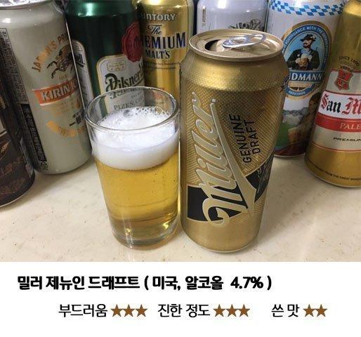 9.jpg 편의점 수입 맥주 8종 맛 비교