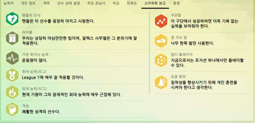 2.PNG [ST] Alex Samuel 하부리그 쏠쏠한 선수
