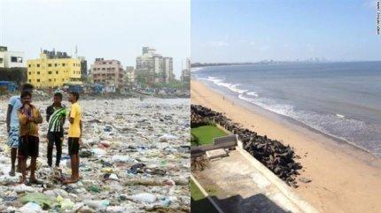 0002826436_001_20170603160116178.jpg 인도 쓰레기   해변 21개월 청소