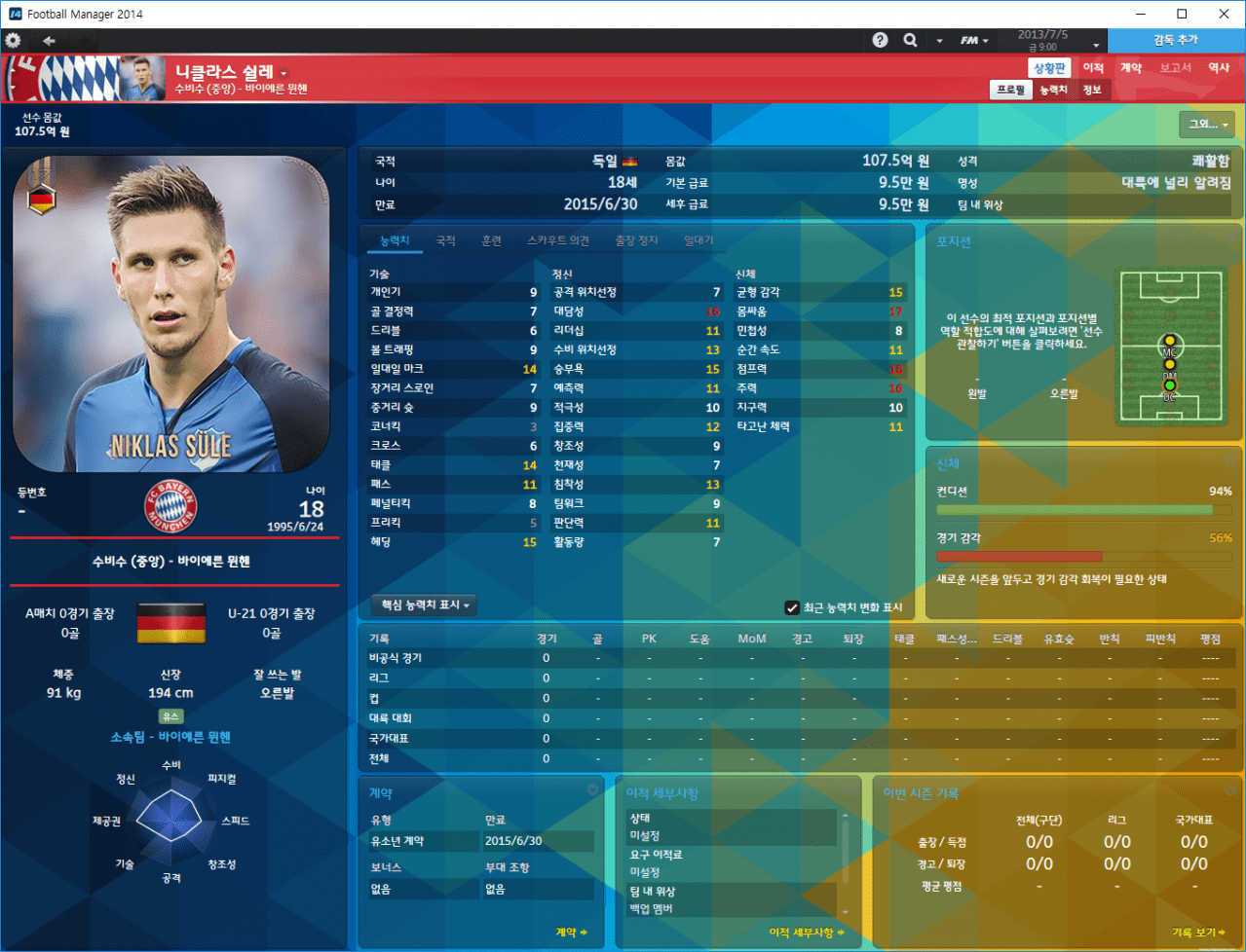 sule.PNG [14.3.1] Football Manager 2014 FMDONG ROSTER 17-18 Transfer & CA/PA ROSTER BETA v0.1