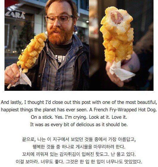 한 외국인이 생각하는 한국 길거리 음식의 본좌