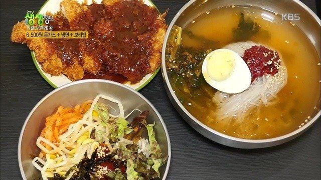 22.jpg 돈까스 냉면 보리밥=6500원