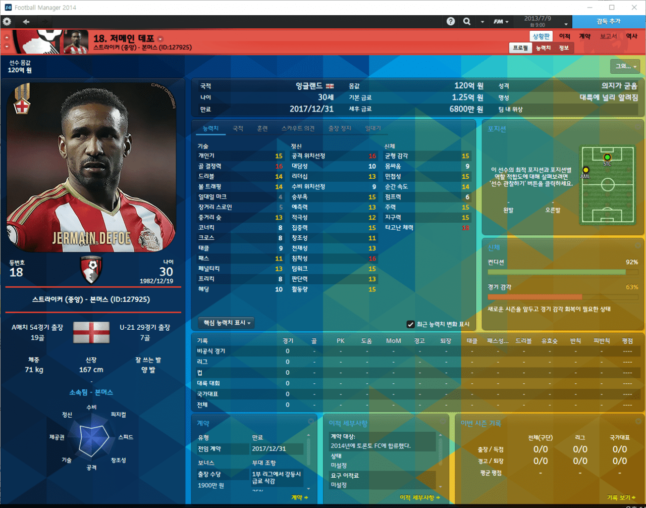 Defoe.PNG [14.3.1] Football Manager 2014 17-18 EU Transfer FMDONG ROSTER BETA v0.2