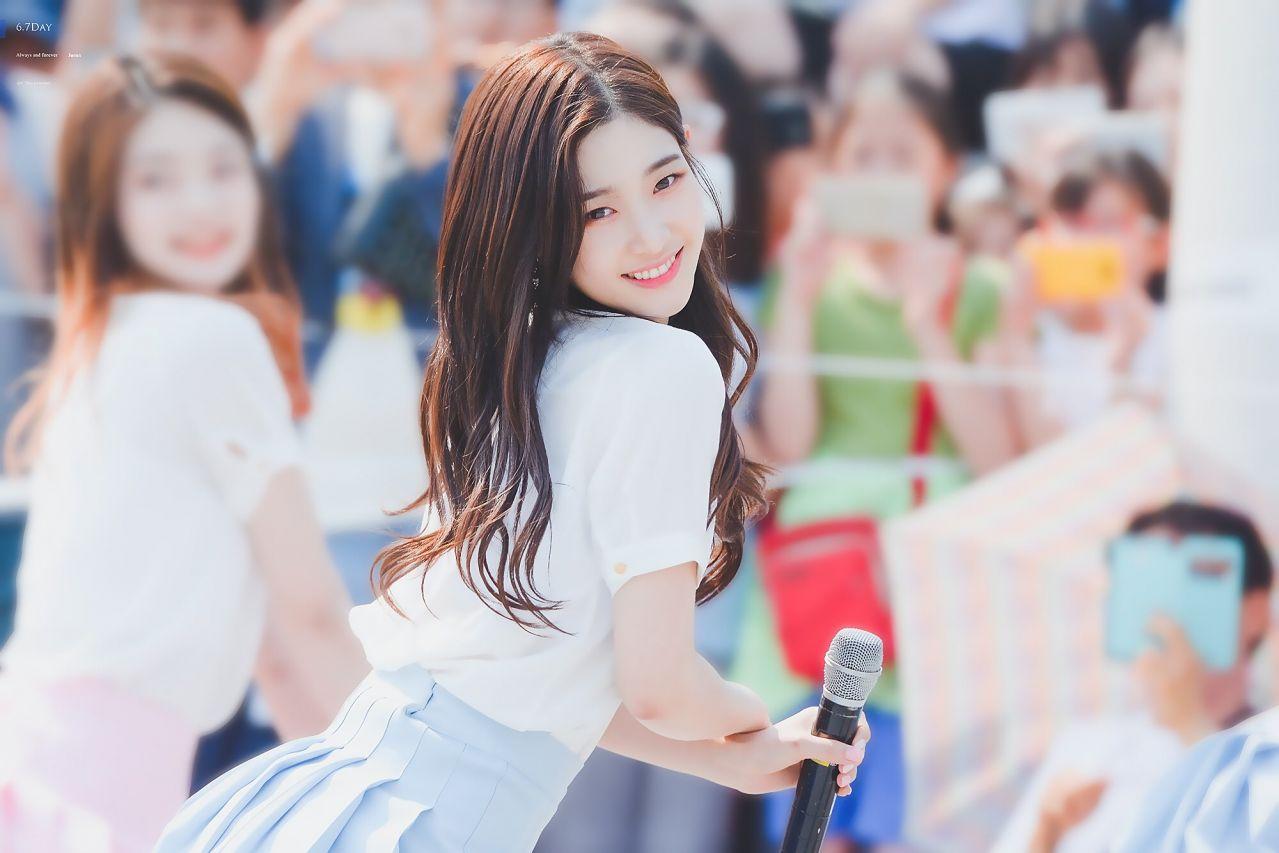 채연이 예뻐