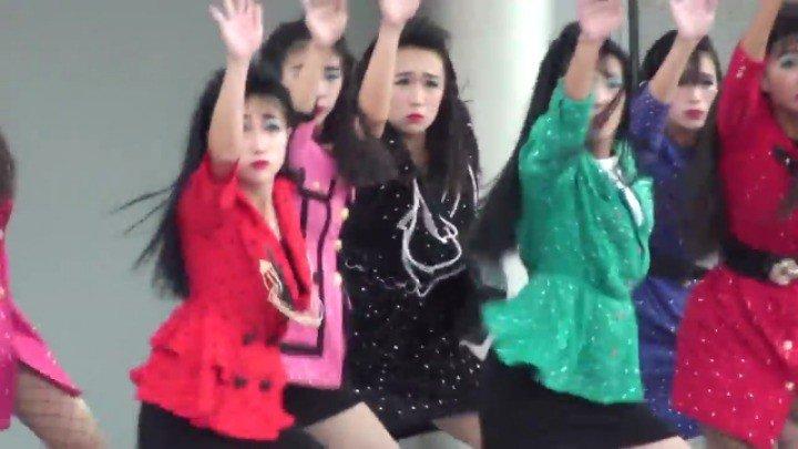 일본 오사카 여고생 댄스팀