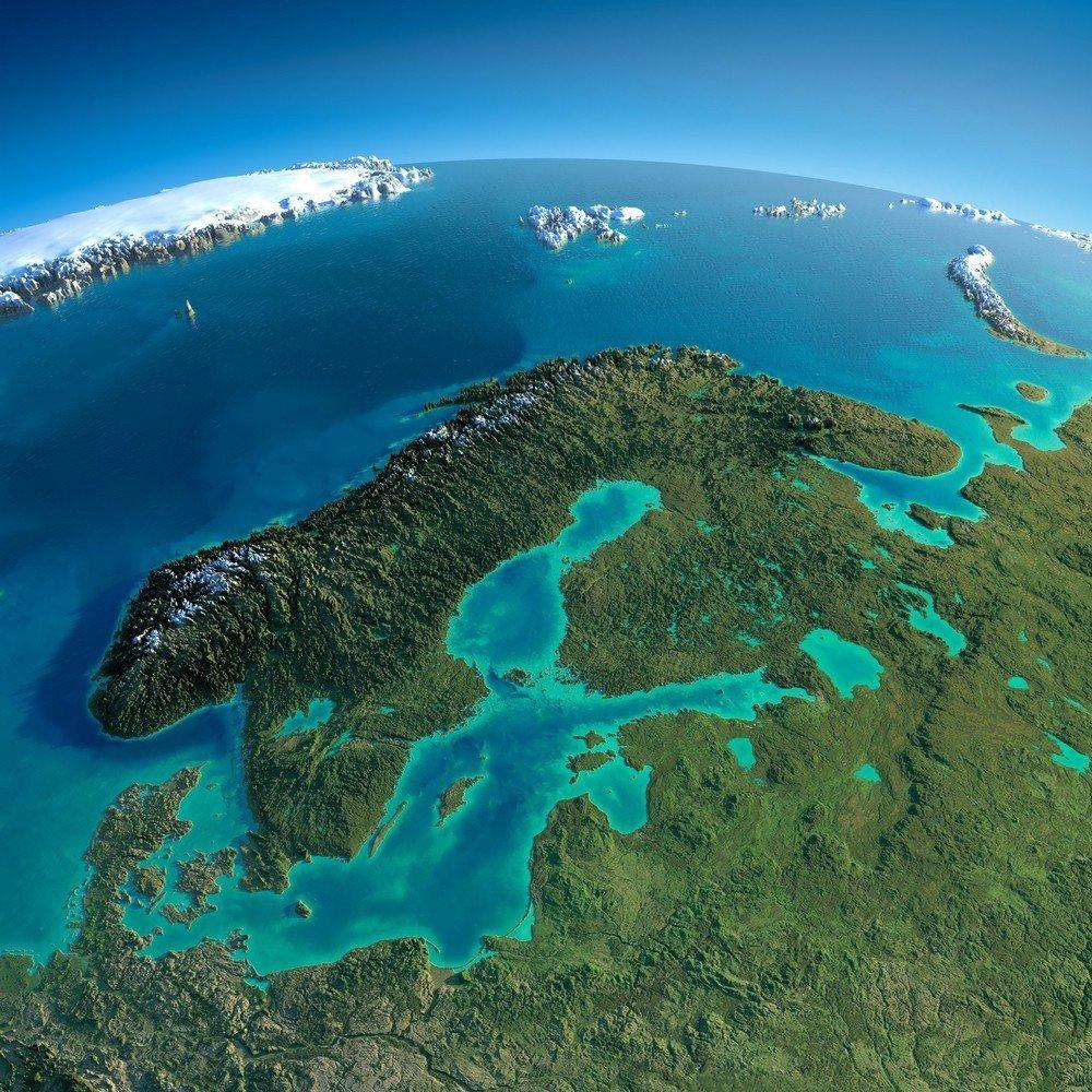 1.jpg 해발고도를 뻥튀기 한다면, 지구는 어떻게 보일까?