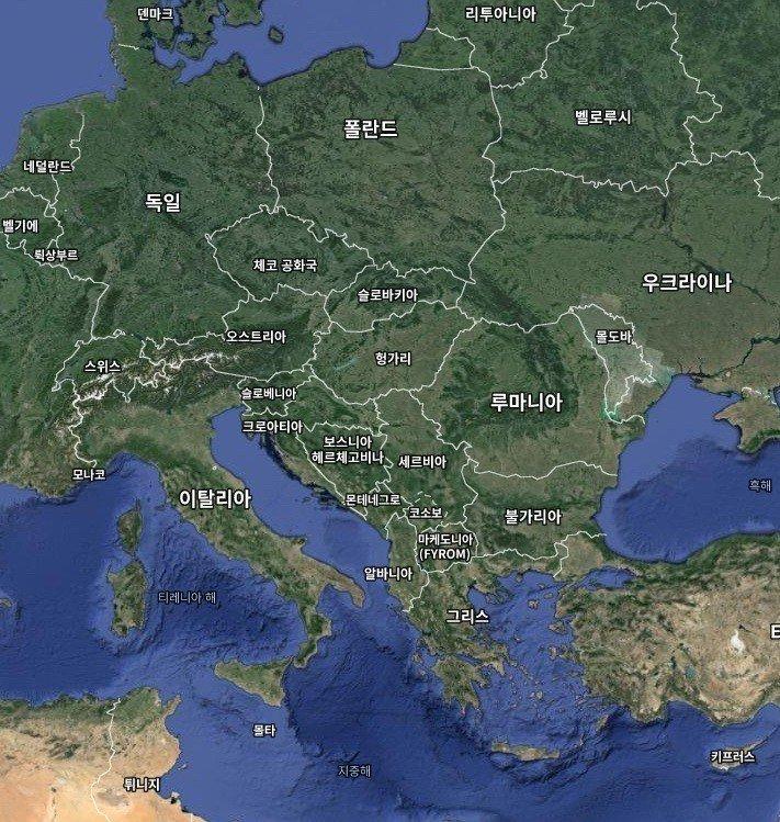 6.jpg 해발고도를 뻥튀기 한다면, 지구는 어떻게 보일까?