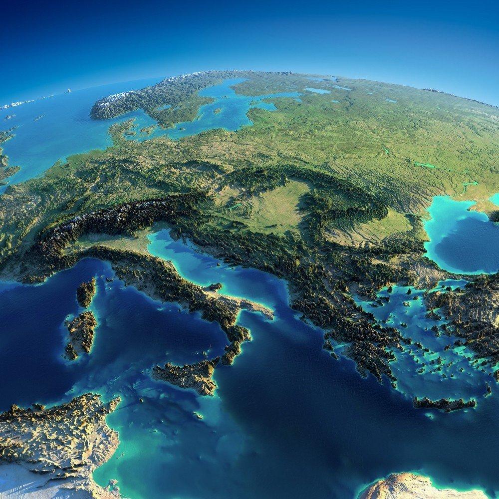 5.jpg 해발고도를 뻥튀기 한다면, 지구는 어떻게 보일까?