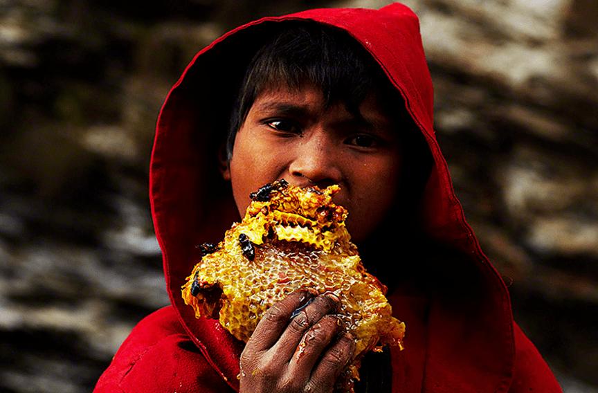 0011.png 네팔의 흔한 꿀 사냥꾼 구룽(Gurung) 부족