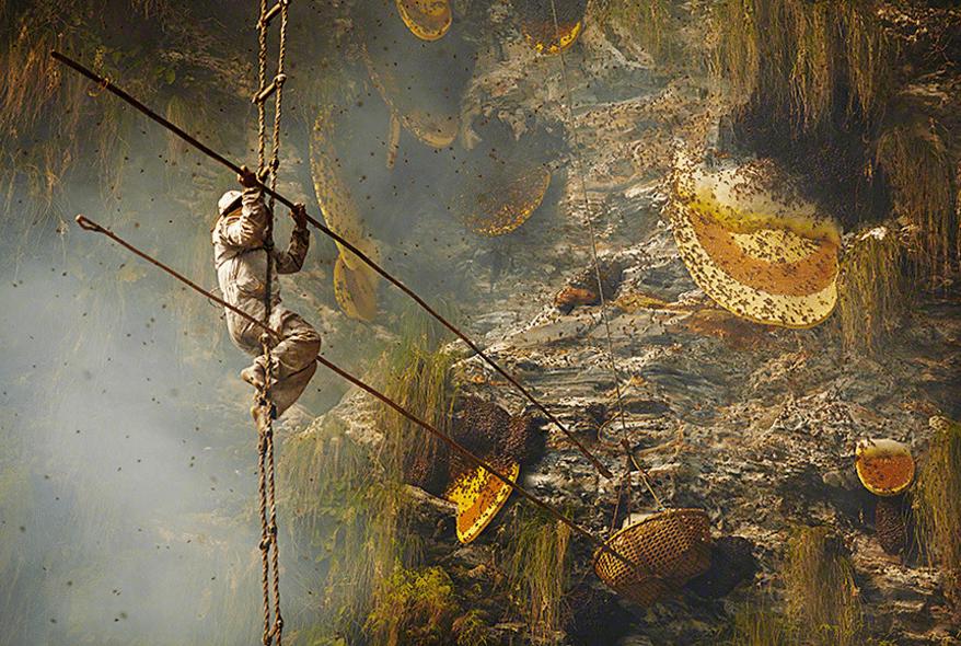 0001.png 네팔의 흔한 꿀 사냥꾼 구룽(Gurung) 부족
