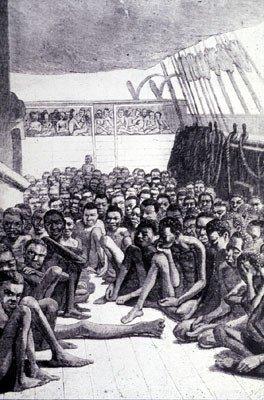 slaves.jpg 현세의 지옥, 끔찍한 흑인 노예선