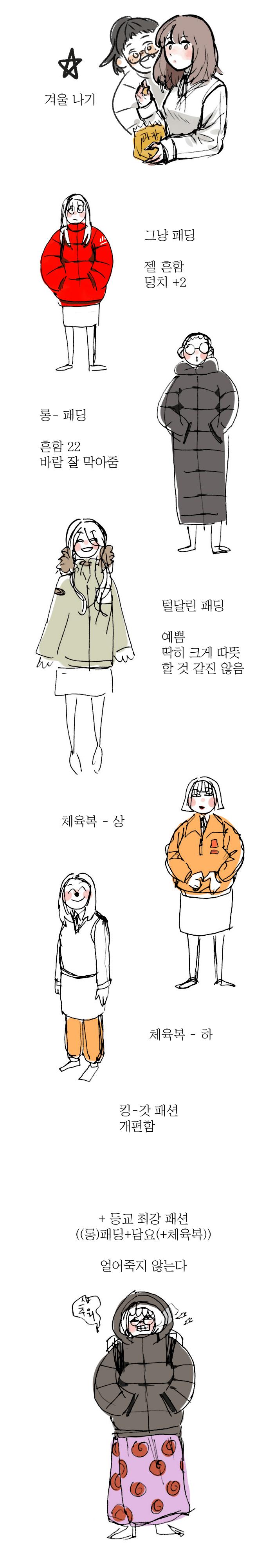 1512781437.png 요즘 여고생 겨울 패션