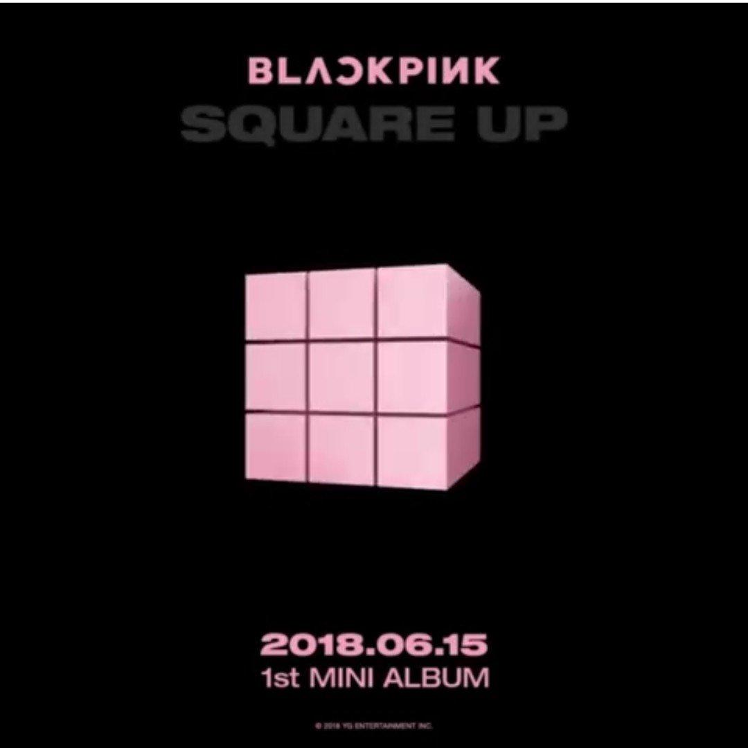 블핑 오피셜 6.15 1ST Mini Album