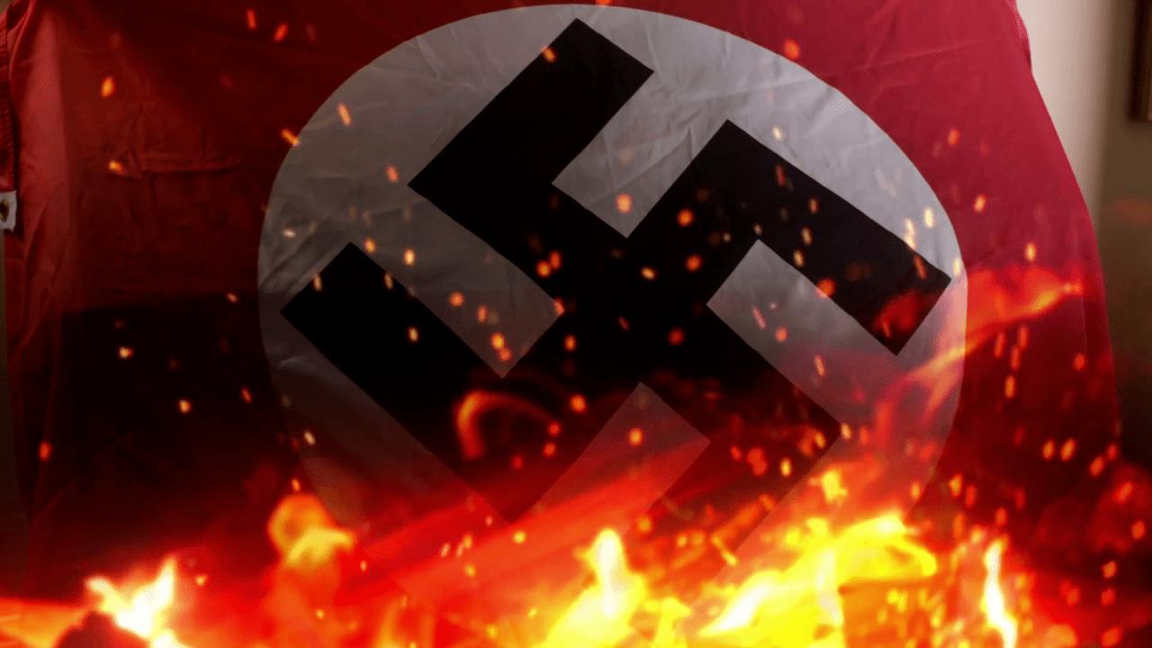 burning-nazi-flag-destruction-of-nazi-empire_b8eqws4qe_thumbnail-full01.png 히틀러와 나치당의 정권장악 - 극단적인 사상이 사회를 삼키는 과정