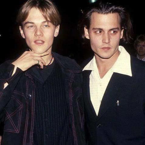 젊었을 적 피트와 디카프리오