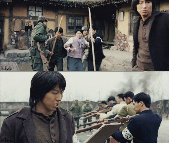 민간인 학살 태극기 휘날리며 1-1.jpg 한국전쟁 당시 영국군에 의해 밝혀진 학살 사건.jpg