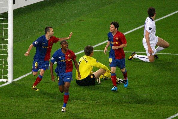 "Samuel+Eto+o+Manchester+United+v+Barcelona+WplVCbZbGIAl.jpg [BBC]캐릭""2009년 챔피언스리그 결승전 패배 이후 2년동안 우울했어요"""