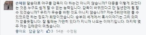 손3.jpg 선동렬 TV보며 2억받는다 비판...손혜원..정체...jpg