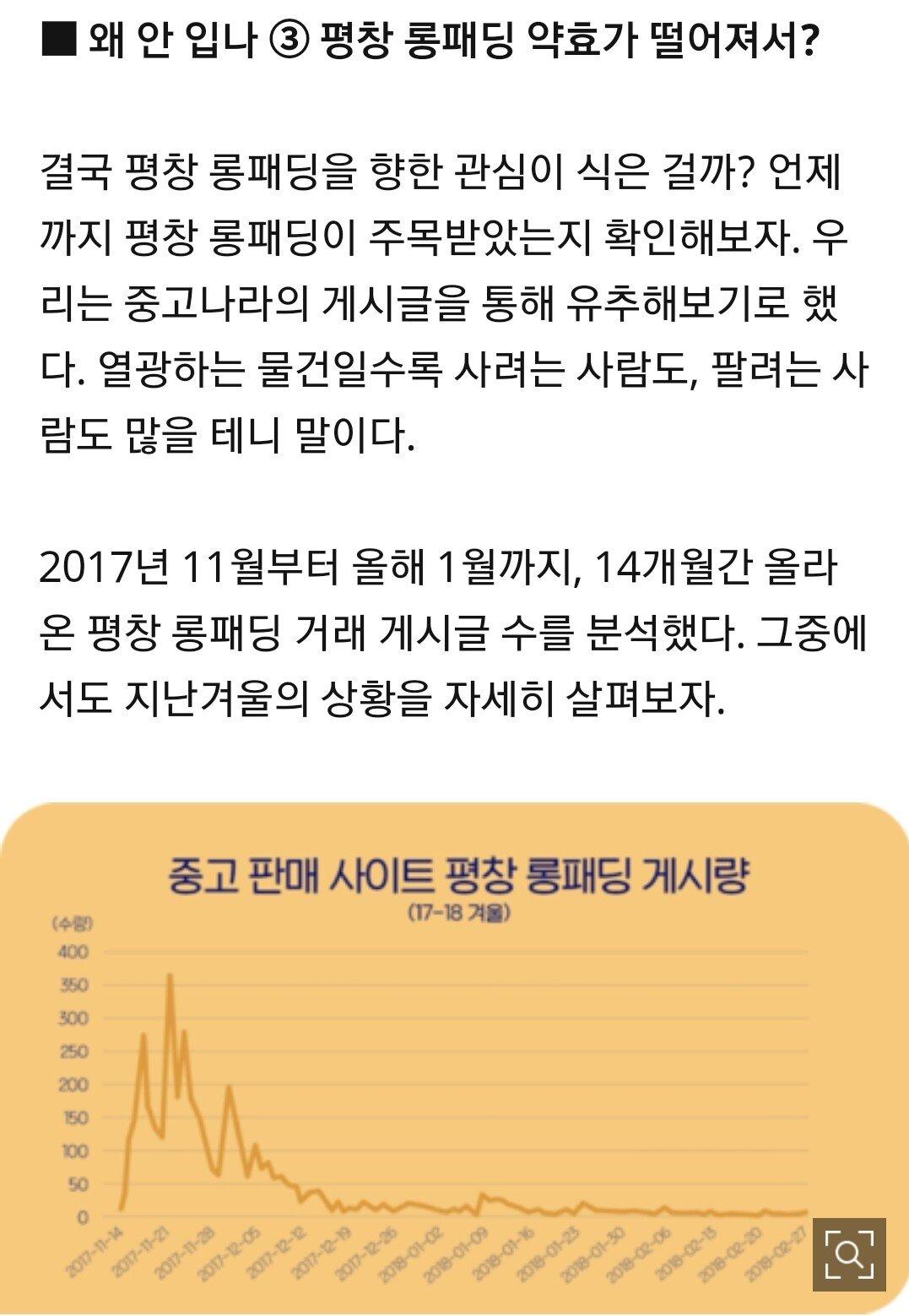 Screenshot_20190210-195717_Samsung Internet.jpg 평창 롱패딩 다 어디로 갔을까?