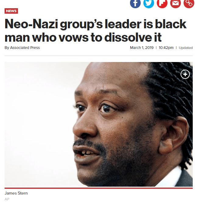 1.png 흑인 운동가가 美최대 네오나치 단체 장악... 미국판 \'트로이 목마\'
