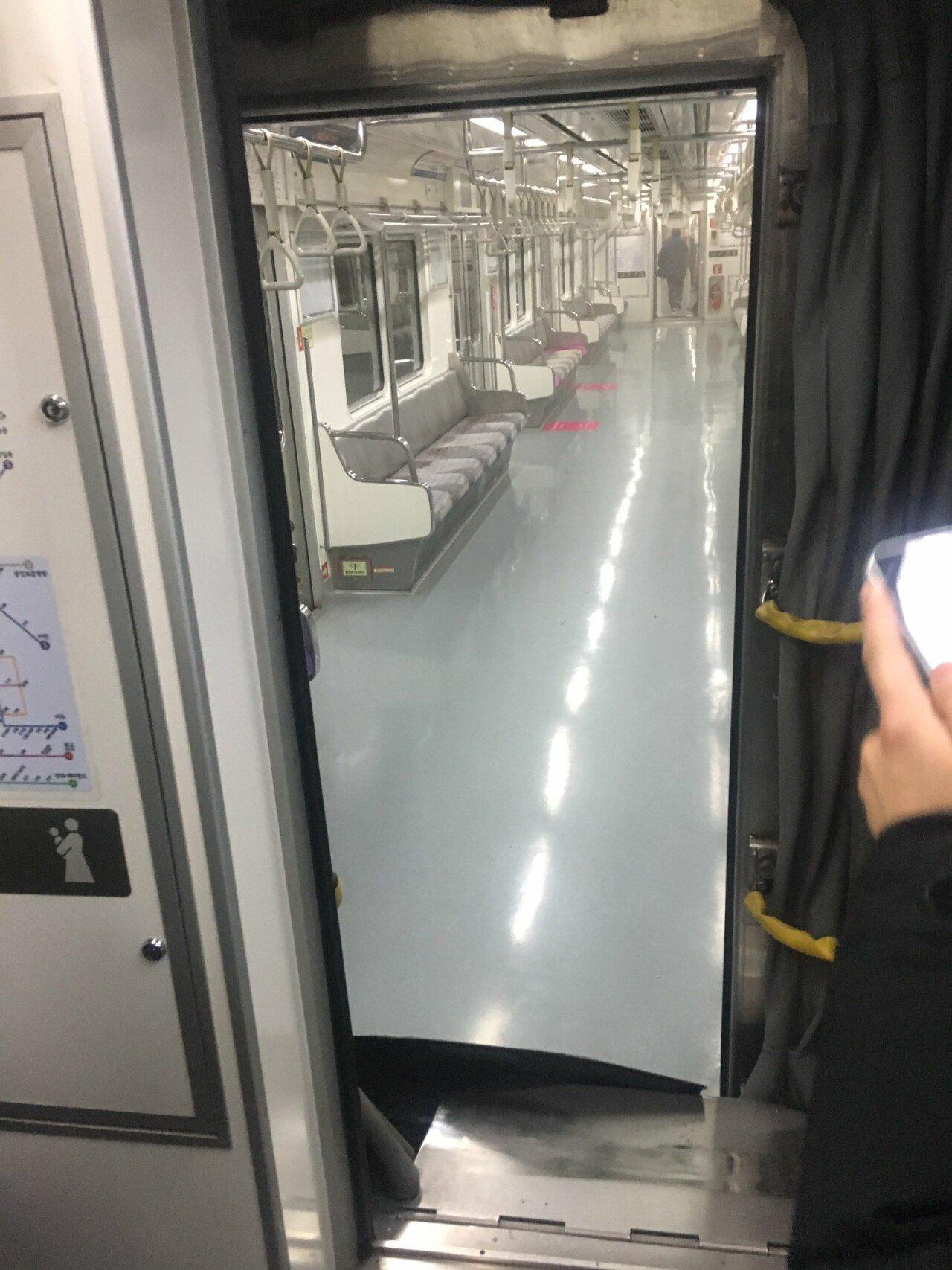 <속보> 7호선 탈선 - 사진 추가