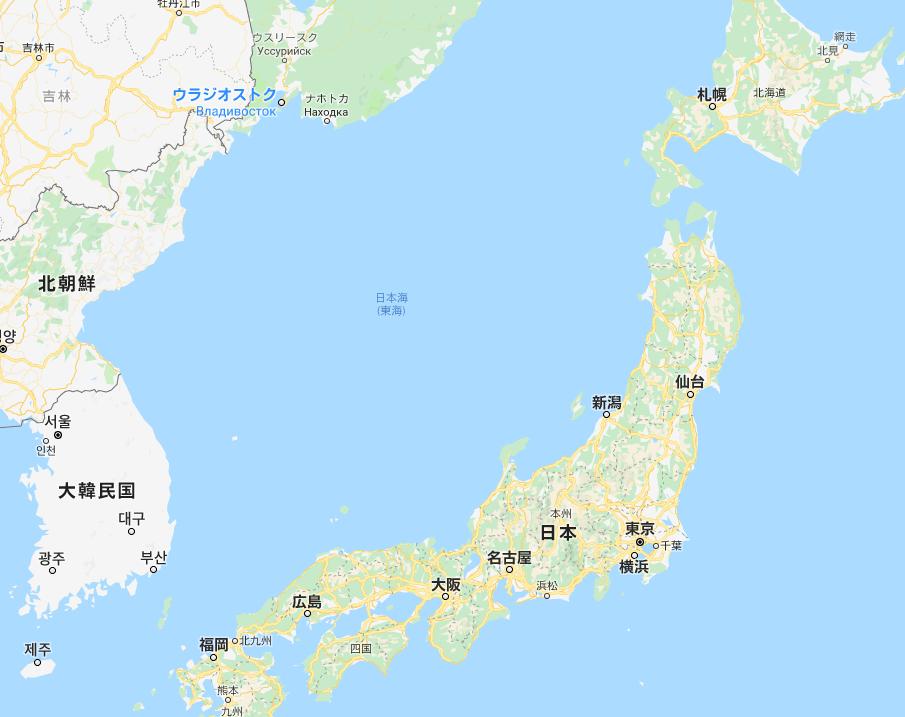 3.PNG 구글지도에서 일본해는 과연 사라진것일까?