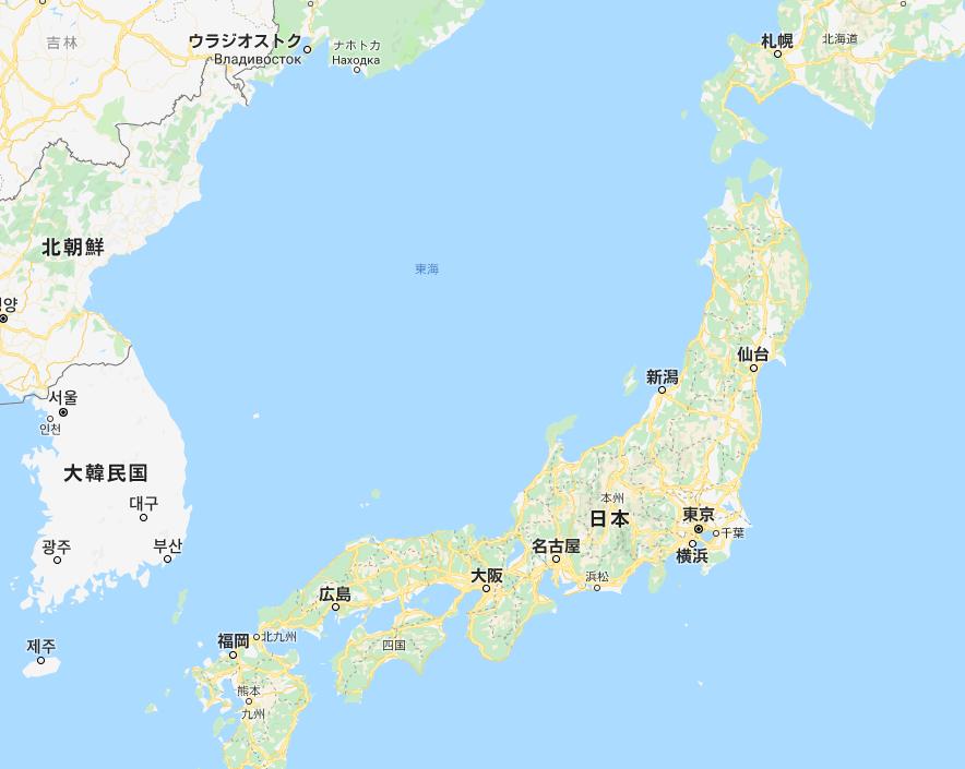 1.PNG 구글지도에서 일본해는 과연 사라진것일까?