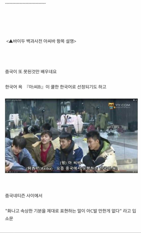 ROD3MPV.jpg 짱개한테 절대루 하면 안되는 한국욕.jpg