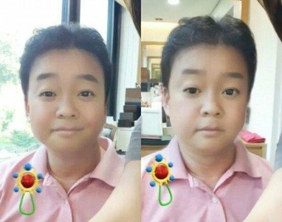 201905231130559338737_20190523113815_01.jpg 애기얼굴 어플 쓴 연예인들 모음 .jpg