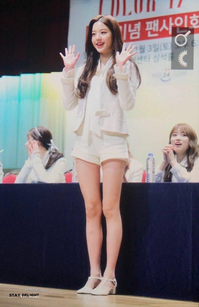 만년돌 장원영 비율 모음 gif
