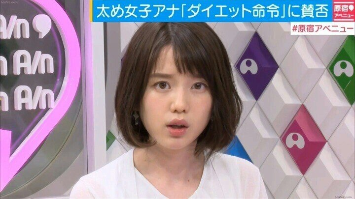 1.jpg 극과 극의 매력을 가진 일본 아나운서 2명.JPG