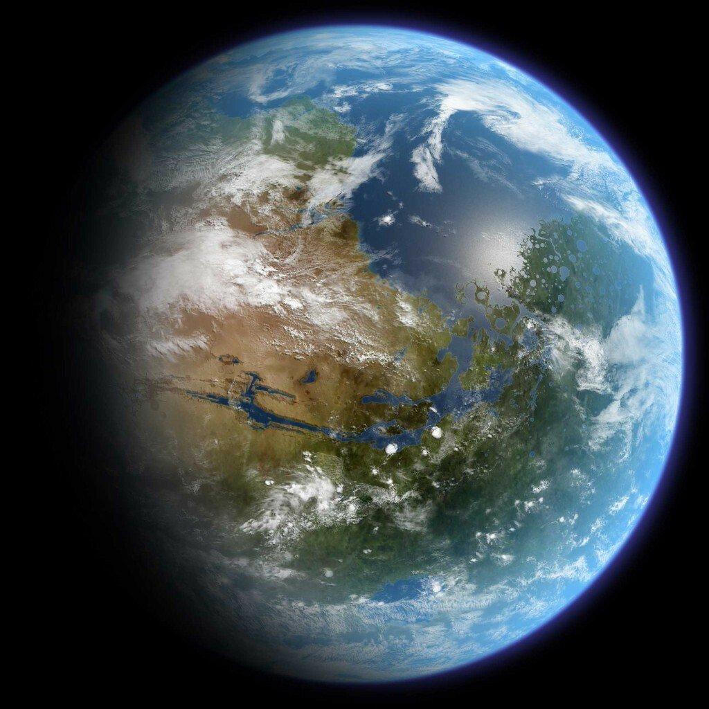 3.jpg 지구처럼 테라포밍된 화성의 세계