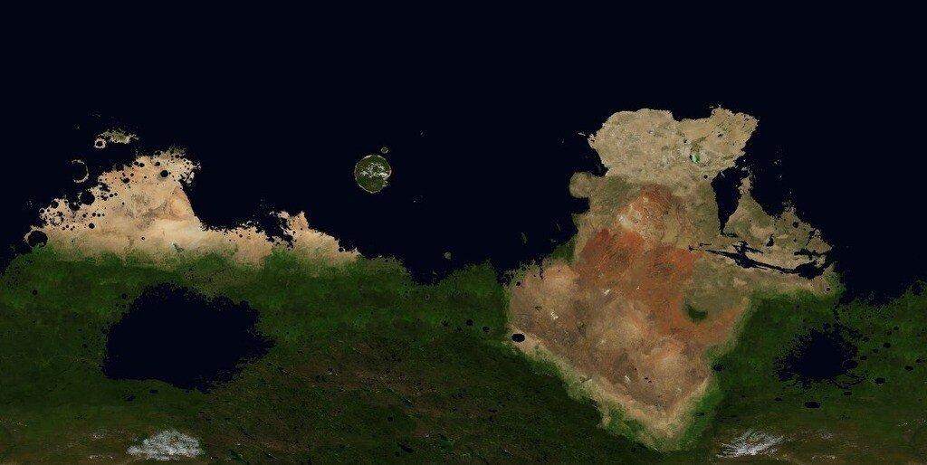 5.jpg 지구처럼 테라포밍된 화성의 세계