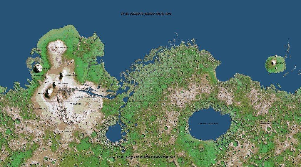 4.jpg 지구처럼 테라포밍된 화성의 세계