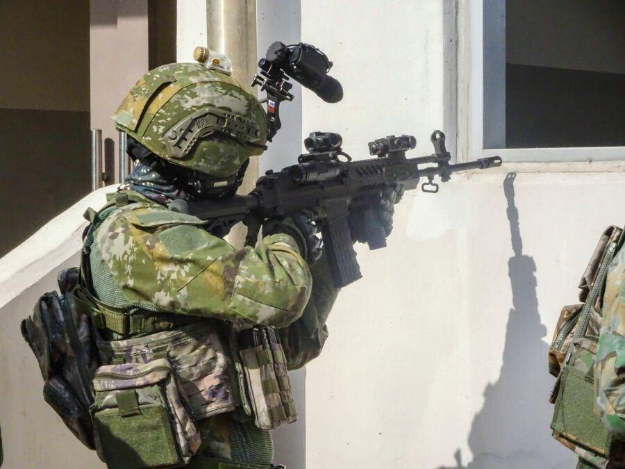 5.jpg 현재 시험중인 국군 신형 위장 패턴