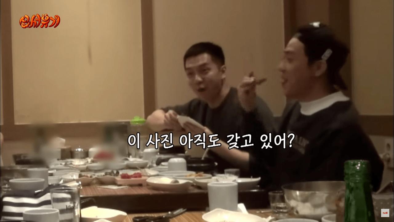 신서유기8.png 이승기가 군대 가기전 신서유기 제작진이 준 선물