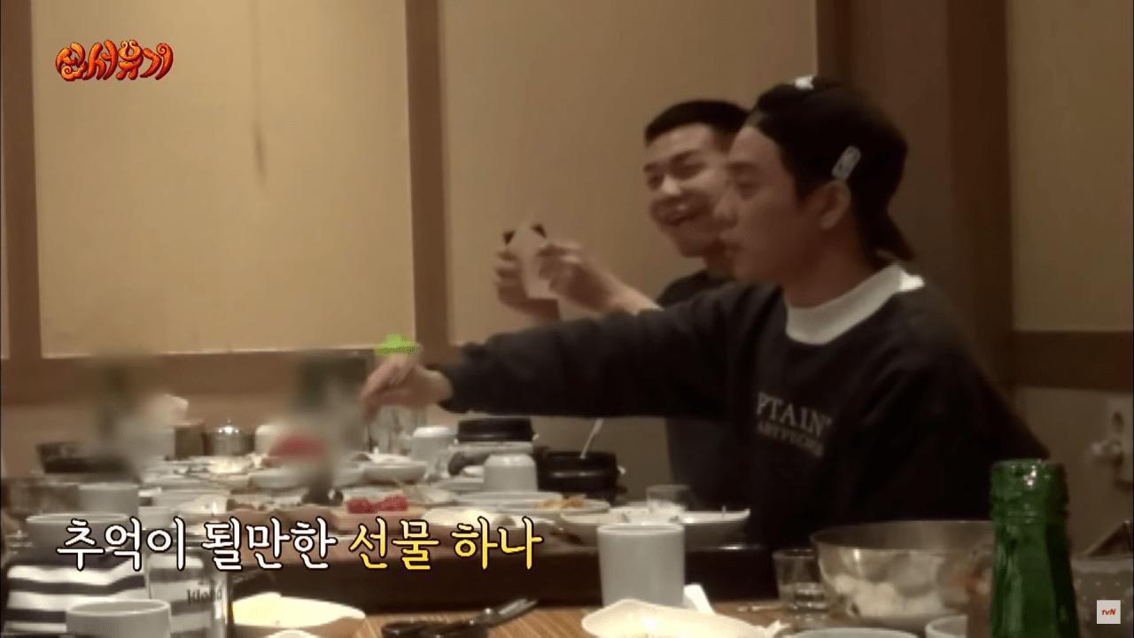 신서유기7.png 이승기가 군대 가기전 신서유기 제작진이 준 선물