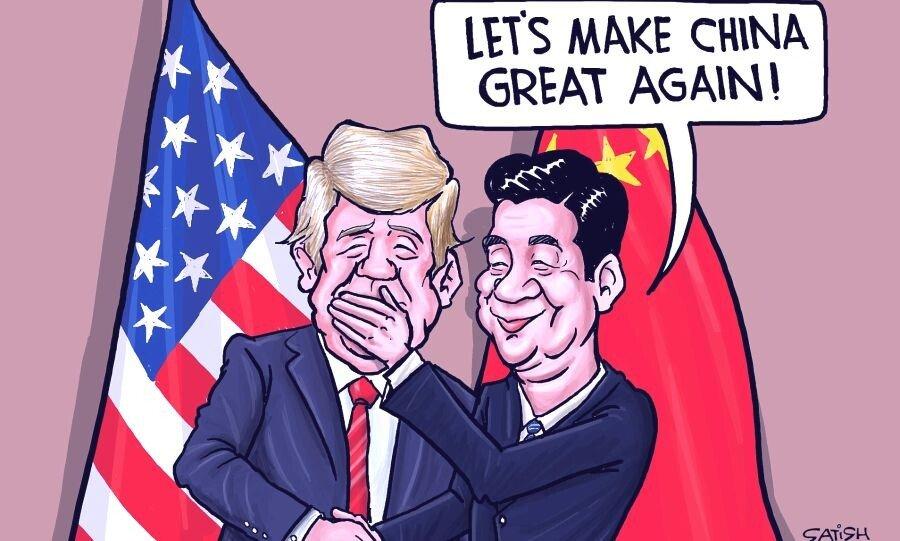 """트럼프 """"홍콩 시위 인원 많이 줄었다. 자연스럽게 해결 될 것"""""""