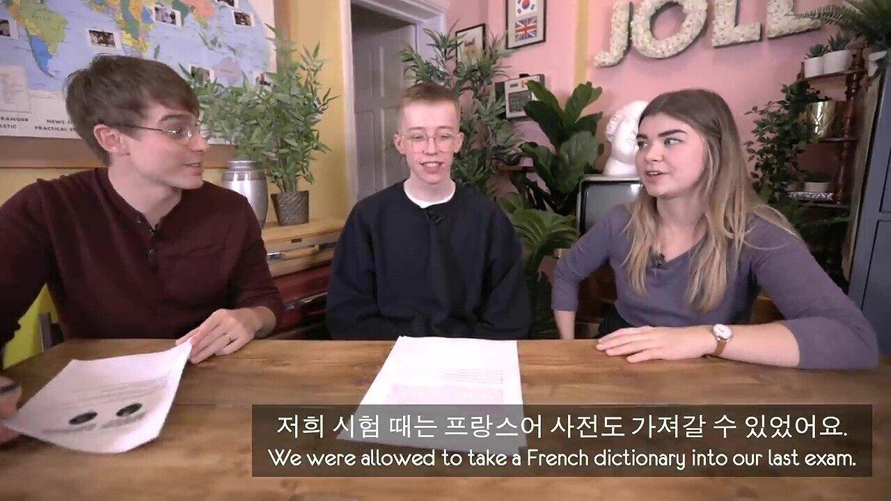 pic_032.jpg 수능 하루전 수능 시험 문제를 풀어본 영국 10대들의 반응.....JPG