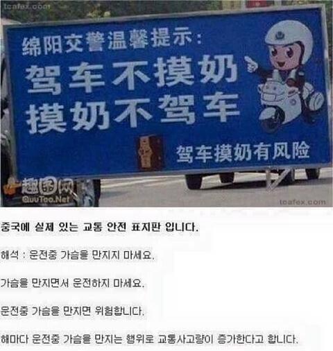 1574728447206.jpg 중국스러운 교통표지판