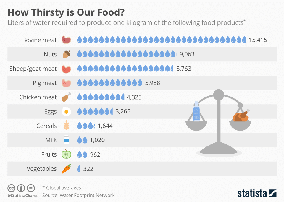 chartoftheday_9483_how_thirsty_is_our_food_n.jpg.png 음식 1kg을 생산할 때 필요한 물의 양