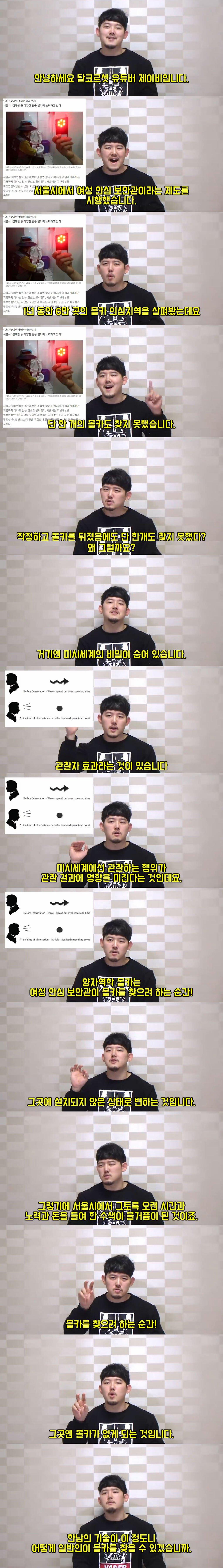 서울시 여성 안심 보안관이 몰카를 단 한개도 못찾은 이유