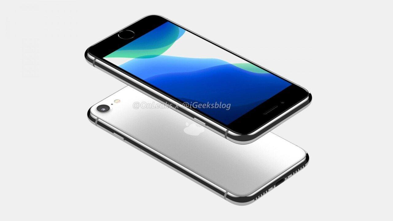 E03647DA-0E92-40C7-B8DD-72EF38B6735A.jpeg 아이폰9 (또는 아이폰SE2) 사실상 확정 디자인.JPG